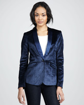 Elizabeth and James Rex Velvet Blazer