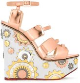 Charlotte Olympia 'Mechanical Merylin' sandals - women - Leather - 39