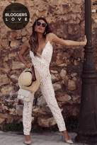 Little Mistress White Jumpsuit