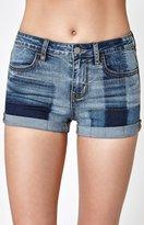PacSun Super Stretch Tonal Blue Shorts