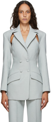 MATÉRIEL Grey Two-Piece Wool Blazer