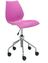 Kartell Maui Swivel Chair - Fuchsia
