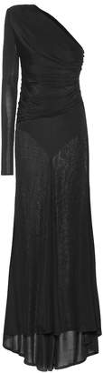 Alexandre Vauthier Ribbed jersey gown