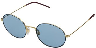 Ray-Ban 0RB3594 53mm (Blue/Light Blue) Fashion Sunglasses