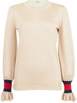 Baum und Pferdgarten Carmel Gold Lurex Sweater