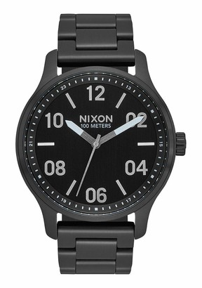 Nixon Unisex Adult Analogue Quartz Watch with Stainless Steel Strap A1242-180-00
