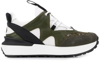 Mr & Mrs Italy Paneled Sneakers