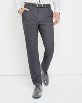 Ted Baker Wool Suit Trousers Grey