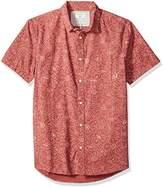 Quiksilver Men's Electric Daisy SS Button Down Shirt