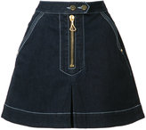 Ellery A-line denim skirt