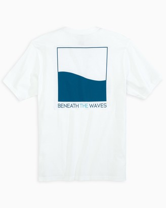 Southern Tide Beneath the Waves Short Sleeve T-Shirt