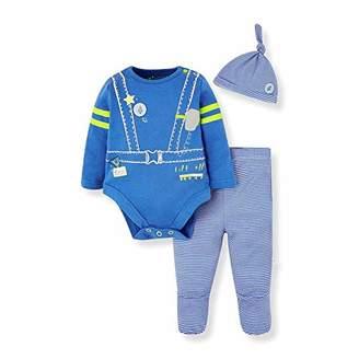 Mothercare Baby IO B L Space Novelty 3PC Set Bodysuit,(Size:86)