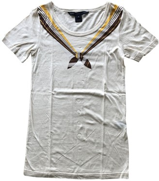 Marc by Marc Jacobs Beige Cotton Top for Women