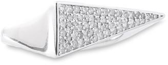Adina Sterling Silver Diamond Ring