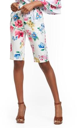 New York & Co. Madie Floral Bermuda Short - 7th Avenue