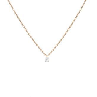 AUrate New York Pear Shaped Diamond Pendant