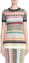 Missoni Women's Fish Scale Knit Top