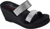 Skechers Women's Bohemian Arrow Lil Bloom Slide Wedge Sandal