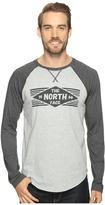 The North Face Long Sleeve 66 Diamonds Raglan Tee ) Men's T Shirt