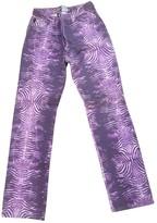 Roberto Cavalli Purple Denim - Jeans Jeans for Women