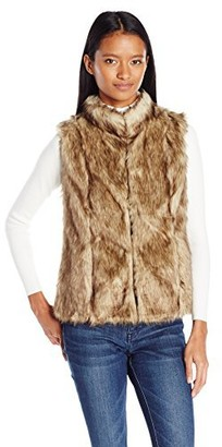 Angie Women's Faux Fur Vest