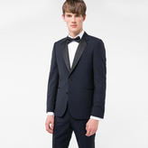 Paul Smith Men's Navy Wool And Mohair-Blend Evening Suit