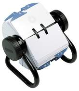 Household Essentials Rolodex Open Rotary Card File Holds 500 2-1/4 x 4 Cards, Black
