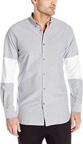 Zanerobe Men's Cutout 7Ft Long Sleeve Shirt