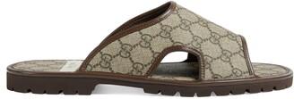 Gucci Men's GG Supreme slide sandal