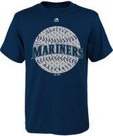 Majestic Boys' Seattle Mariners Electric Ball T-Shirt