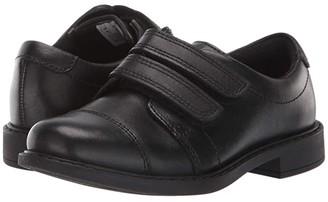 Clarks Scala Skye (Toddler) (Black Leather) Boy's Shoes