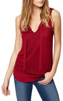 Sanctuary Petite Women's Emma Tie Neck Top