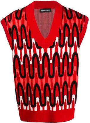 Neil Barrett V-Neck Sweater Vest