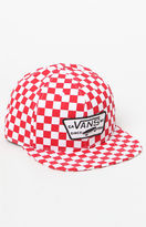 Vans Full Patch Checkerboard Snapback Hat