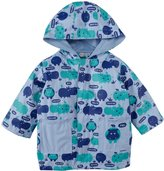 Magnificent Baby Hippo Friends Raincoat (Baby) - Blue-24 Months