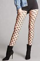 Forever 21 Chain-Link Fishnet Tights