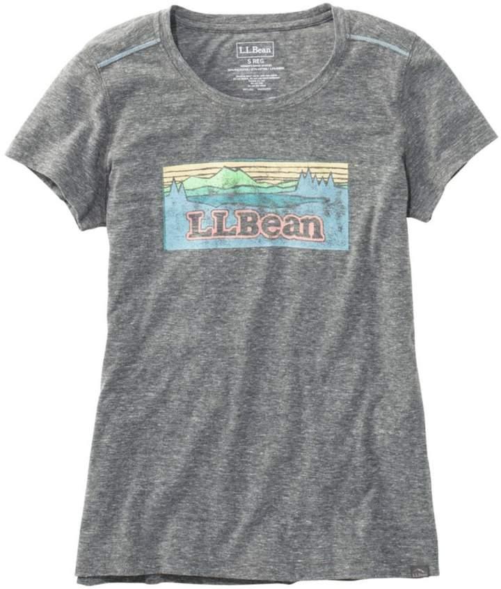 L.L. Bean L.L.Bean Women's Back Cove Graphic Tee