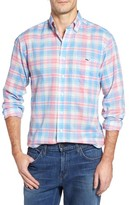 Vineyard Vines Men's Kings Point Plaid Slim Tucker Sport Shirt