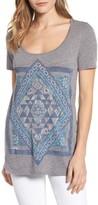 Lucky Brand Women's Celestial Mandala Top