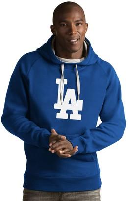 Antigua Men's Los Angeles Dodgers Victory Logo Hoodie