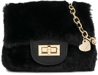 MonnaLisa Faux-Fur Cross-Body Bag