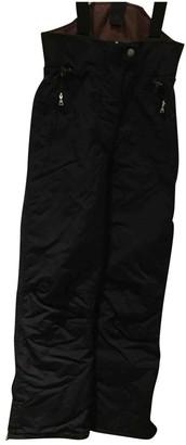 Napapijri Black Cloth Trousers for Women