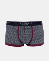 Ted Baker Geo print organic cotton-blend boxers