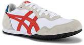 Onitsuka Tiger by Asics Serrano in White & Fire Opal | FWRD