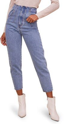 ASTR the Label Mineral Wash High Waist Jeans