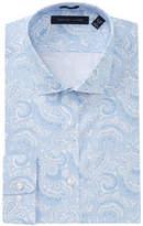 Tommy Hilfiger Slim Fit Paisley Dress Shirt
