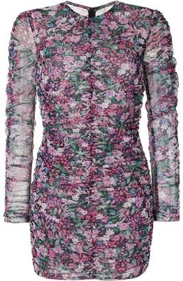 Bec & Bridge Anais Mesh mini dress