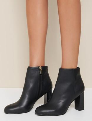 Forever New Hannah Slim Heel Boots - Black - 38