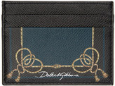 Dolce & Gabbana Black Tassel Card Holder