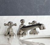 Pottery Barn Victoria Cross-Handle Widespread Bathroom Faucet